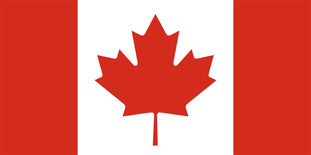 Original image from https://en.wikipedia.org/wiki/Flag_of_Canada#/media/File:Flag_of_Canada_(Pantone).svg