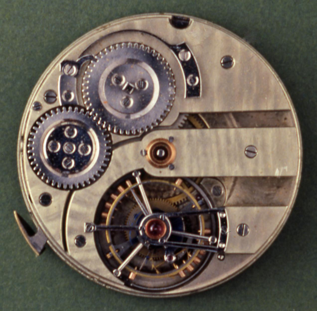 Tourbillon Movement by Albert Pellaton